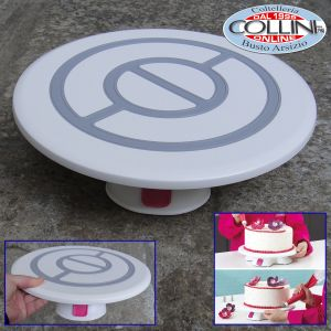 Decora - Revolving table with base