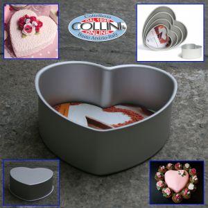 Decora - Tortiera in alluminio forma di cuore - 20x7,5cm. (articoli casa)