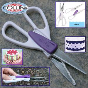 Wilton - Waves Cut Decorative Scissors