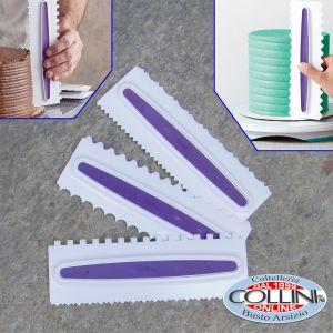 Wilton - Icing Smoother Comb Set - 3 Piece