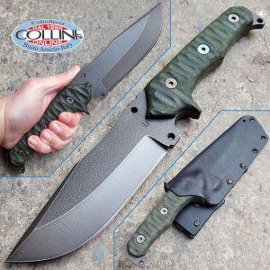 Wander Tactical - Haast Eagle - Raw Finish & Forest Micarta - coltello custom