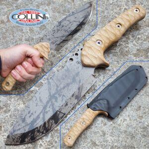 Wander Tactical - Uro Hunt - Black Blood e Desert Micarta - coltello custom