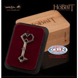 Weta Workshop - Ciondolo della Chiave di Erebor - Argento 925 - Lo Hobbit