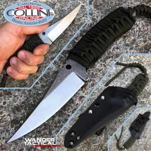 Wander Tactical - Barracuda - Satin & Desert Micarta - Limited Edition