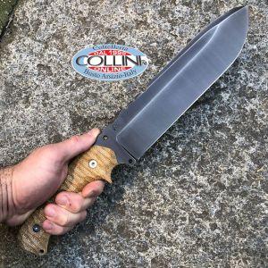 Wander Tactical - Godfather knife - Iron Washed  & Desert Micarta - Versione Standard