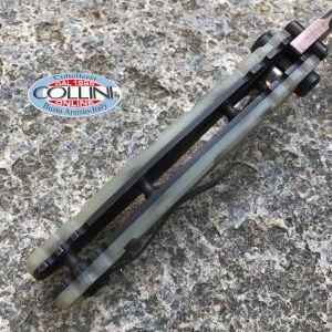 Wander Tactical - Hurricane Folder Custom - Alluminio Satinato Black Blood