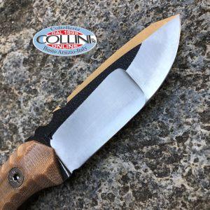 Wander Tactical - Scrambler Compound - Raw Finish & Desert Micarta - coltello artigianale