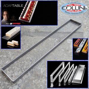 avoni - Teglia grezza forata in alluminio 60x40x2 cm.