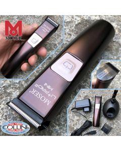 Moser - Li+Pro Mini - Regola Barba Professionale Ricaricabile - 1584-0050 - tagliacapelli