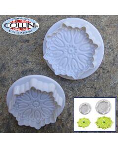 Pavoni - Set 3 pezzi taglia con espulsore fiore N03001