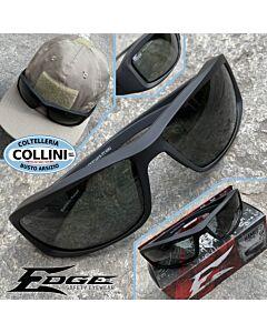 Edge Tactical Eyewear - Hamel TT Black tactical eyewear - Polarized Vapor Shield Lens - TXH716VS-TT