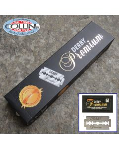 Derby - 100 Premium  Double Edge Blades  for Shavette and Safety Razor