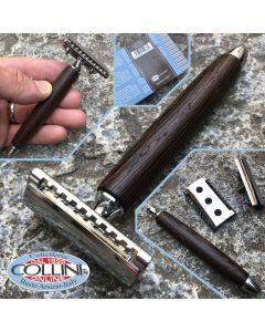 Fatip - Safety Razor - Gentile Head - Close Comb - Wengé - 42132