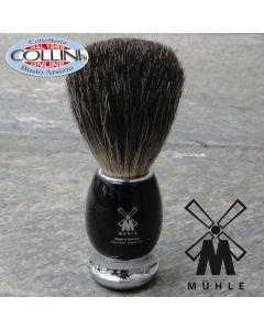 Muhle - VIVO Shaving brush , pure badger, handle material high-grade resin black
