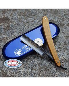 Dovo - nickel razor 5/8 pakkawood - 141-588 - cut-throat razor