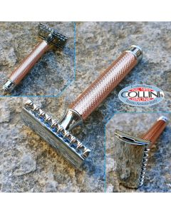 Muhle - R41 Rose Gold - Open Comb - safety razor