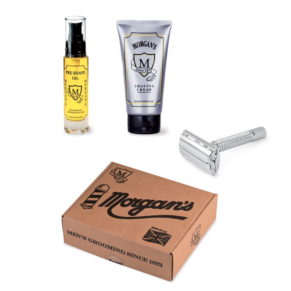 morgan 39 s set london shaving made in uk. Black Bedroom Furniture Sets. Home Design Ideas