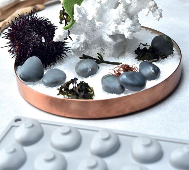 sea urchin decor.htm pavoni silicone stone 28 servings  pavoni silicone stone 28 servings