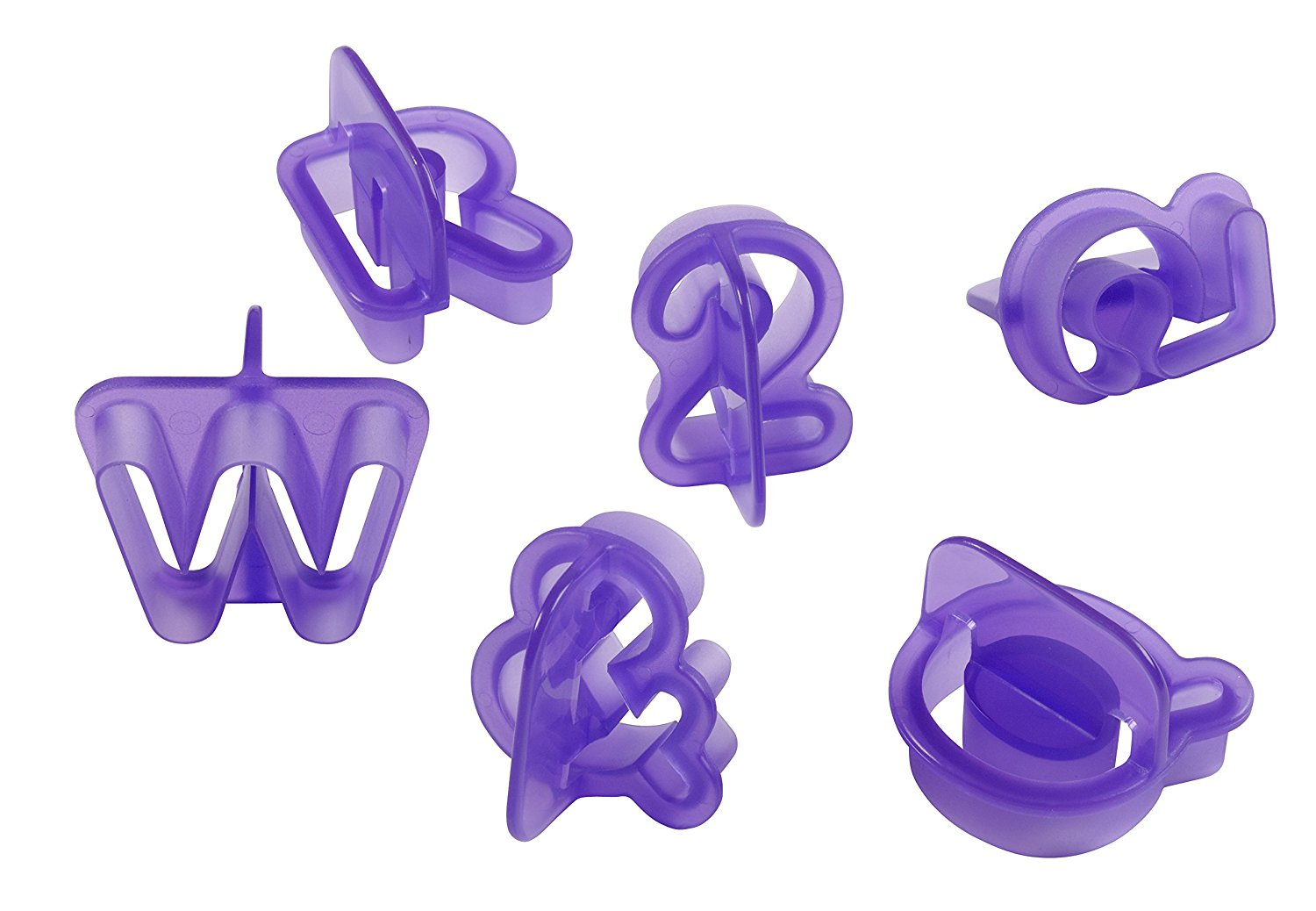 wilton alphabet numbers fondant cut outs set 40 pieces With fondant cut out letters