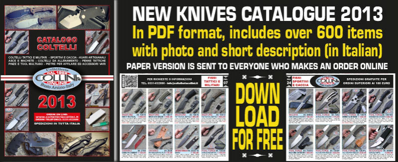 Knives Catalogue 2013